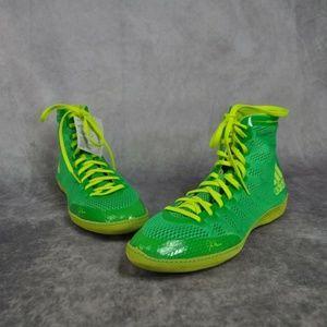 adidas Men's Adizero Wrestling XIV-M Flash Lime So